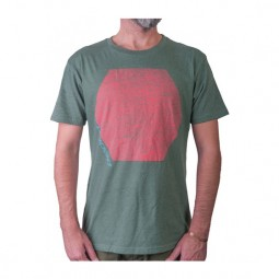 Loaded Hexagon Camiseta Verde