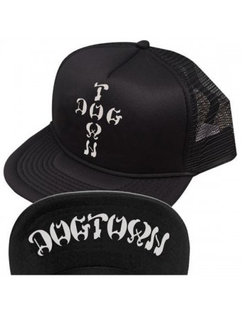 Dogtown Cross Letters Flip Mesh Hat