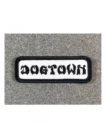 Dogtown Patch Embroidered Work 1