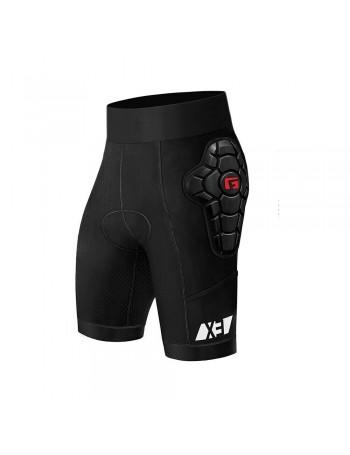 G-Form Mujer Pro-X3 Bike Pantalón Corto Line Negro