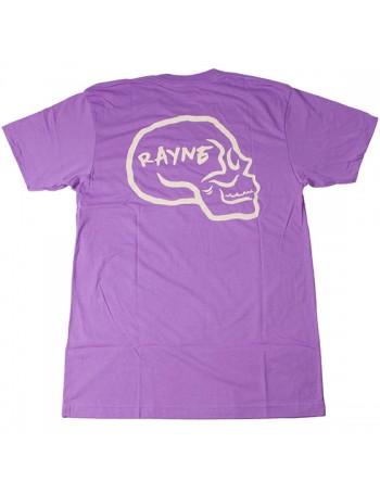 Rayne Camiseta Hamlet Skull Logo Purple