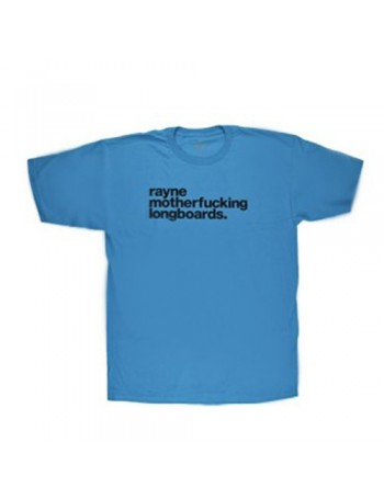 Rayne T-Shirt Mother Rml Logo Blue