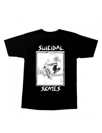 Suicidal Skates Pool Skater Camiseta