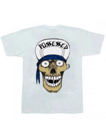 Suicidal Skates T-Shirt Punk Skull