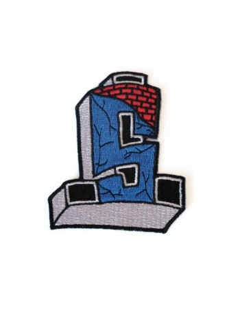 """Suicidal Patch Embroidered Cross Logo 3.5"""" x 3"""""""